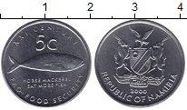 Изображение Монеты Намибия 5 центов 2000 Медно-никель XF