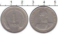 Изображение Монеты Чили 1 песо 1975 Медно-никель VF