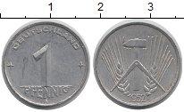 Изображение Монеты Германия ФРГ 1 пфенниг 1952 Алюминий XF
