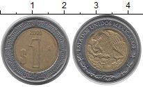 Изображение Монеты Мексика 1 песо 2000 Биметалл VF