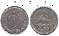 Изображение Монеты Иран 1 динар 1352 Медно-никель VF