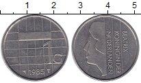Изображение Монеты Нидерланды 1 гульден 1985 Медно-никель XF