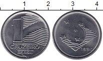 Изображение Монеты Бразилия 1 крузейро 1990 Железо XF