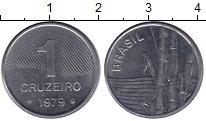 Изображение Монеты Бразилия 1 крузейро 1979 Железо XF
