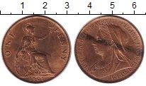 Изображение Монеты Великобритания 1 пенни 1901 Медь XF+