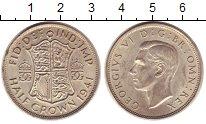 Изображение Монеты Великобритания 1/2 кроны 1941 Серебро XF