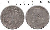 Изображение Монеты ЮАР 2 шиллинга 1895 Серебро XF