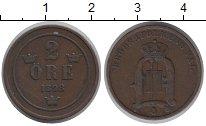 Изображение Монеты Швеция 2 эре 1898 Бронза XF