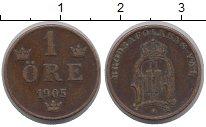 Изображение Монеты Швеция 1 эре 1905 Бронза XF