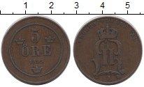 Изображение Монеты Швеция 5 эре 1899 Бронза XF