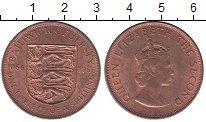 Изображение Монеты Остров Джерси 1/12 шиллинга 1966 Медь XF