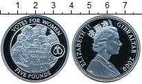 Изображение Монеты Гибралтар 5 фунтов 2009 Серебро Proof