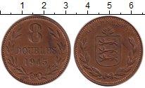Изображение Монеты Гернси 8 дублей 1945 Медь XF