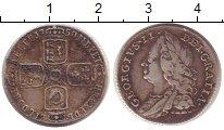 Изображение Монеты Великобритания 6 пенсов 1758 Серебро VF+
