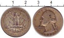 Изображение Монеты США 1/4 доллара 1942 Серебро VF