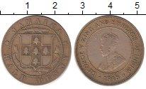 Изображение Монеты Ямайка 1/2 пенни 1918 Медно-никель VF