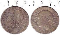 Изображение Монеты Польша 10 злотых 1931 Серебро XF-