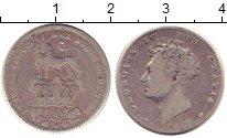 Изображение Монеты Великобритания 6 пенсов 1828 Серебро VF