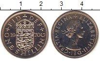 Изображение Монеты Великобритания 1 шиллинг 1970 Медно-никель Proof-