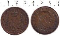 Изображение Монеты Эссекуибо и Демерара 1 стивер 1813 Медь VF+ Георг III