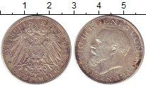 Изображение Монеты Бавария 2 марки 1914 Серебро VF+ Людвиг III
