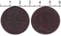Изображение Монеты Испания 8 мараведи 1845 Медь VF