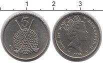 Изображение Монеты Остров Мэн 5 пенсов 1994 Медно-никель UNC