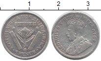 Изображение Монеты ЮАР 3 пенса 1928 Серебро VF