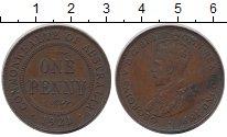 Изображение Монеты Австралия 1 пенни 1921 Бронза XF Георг V