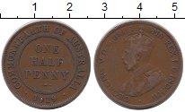 Изображение Монеты Австралия 1/2 пенни 1919 Бронза XF
