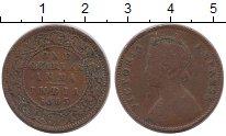 Изображение Монеты Индия 1/4 анны 1895 Бронза VF