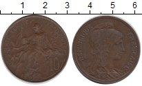 Изображение Монеты Франция 10 сантим 1917 Бронза XF