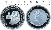 Изображение Монеты Фиджи 1 доллар 2006 Серебро Proof Елизавета II.  Корол