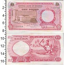 Изображение Банкноты Нигерия 1 фунт 0  XF-