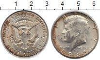Изображение Монеты США 1/2 доллара 1968 Серебро XF