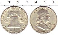 Изображение Монеты США 1/2 доллара 1961 Серебро XF