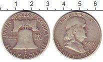 Изображение Монеты США 1/2 доллара 1950 Серебро XF-