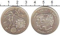 Изображение Монеты Испания 20 евро 2010 Серебро UNC-