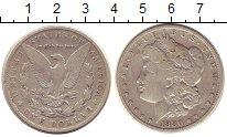 Изображение Монеты США 1 доллар 1880 Серебро XF Морган  доллар
