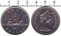 Изображение Монеты Канада 1 доллар 1981 Медно-никель UNC-