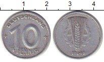 Изображение Монеты ГДР 10 пфеннигов 1948 Алюминий VF А