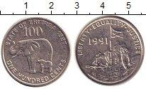 Изображение Монеты Эритрея 100 центов 1997 Медно-никель XF