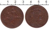 Изображение Монеты Франция 10 сантимов 1916 Бронза XF