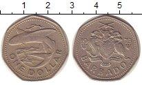 Изображение Монеты Барбадос 1 доллар 1973 Медно-никель XF