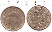 Изображение Монеты Турция 50000 лир 2000 Медно-никель XF