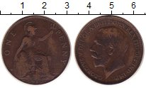 Изображение Монеты Великобритания 1 пенни 1912 Бронза VF