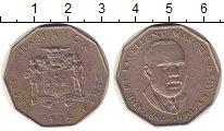 Изображение Монеты Ямайка 50 центов 1975 Медно-никель XF Маркус Гарви.
