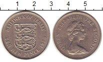 Изображение Монеты Остров Джерси 10 пенсов 1975 Медно-никель XF