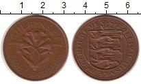 Изображение Монеты Гернси 8 дублей 1956 Бронза XF