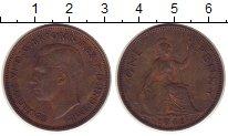 Изображение Монеты Великобритания 1 пенни 1946 Бронза XF